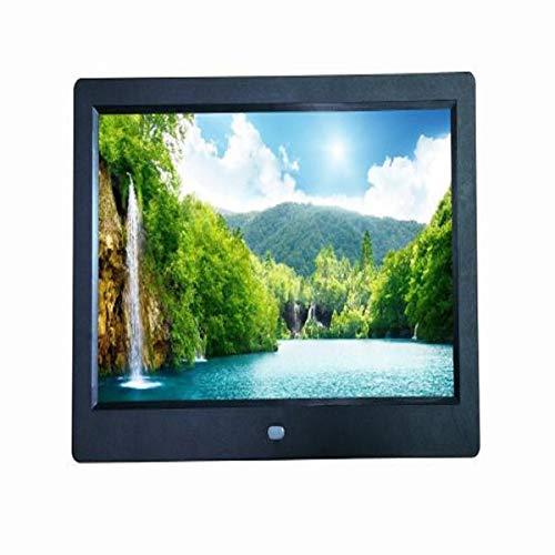 E-Albums, Putars Photo Albums Hd 10 Inch Digital Photo Frame Digital Photo Album Give Gifts to Family to Send Birthday Gifts, Black