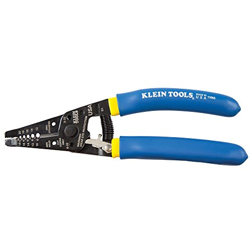 Wire Cutter and Wire Stripper, Stranded Wire Cutter, Solid Wire Cutter, Cuts Copper Wire Klein Tools 11055 by Klein Tools
