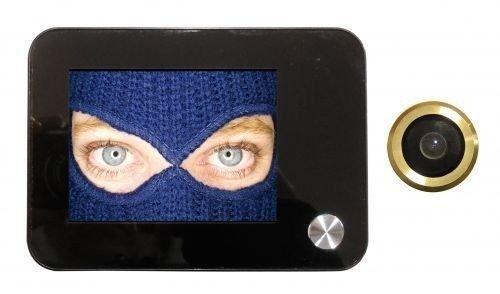 Mirilla digital electrónica con posibilidad de grabar Video y tomar Fotos–Cámara de 120° con zoom BRAVO f07-SOTTOCCHIO