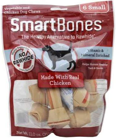 SmartBones Small Chicken Chews 6 Pack