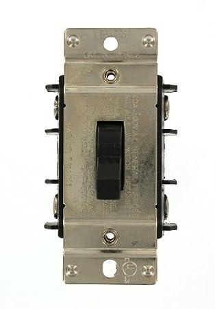 Leviton MS402-DS 40 Amp, 600 Volt, Double-Pole, Single Phase AC ...