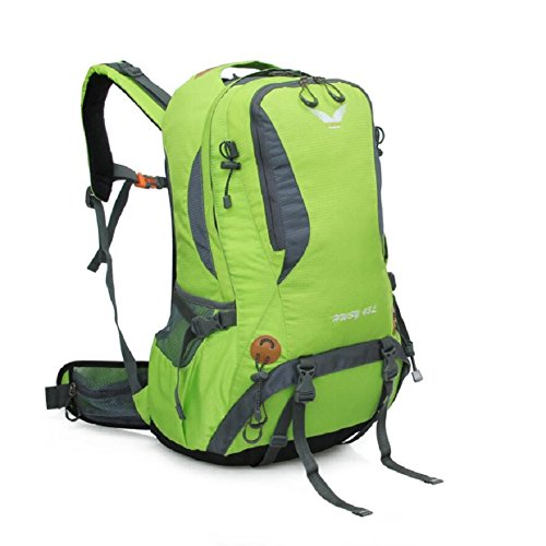 LJ&L Mochila de excursión multiusos al aire libre, con mochila resistente a la lluvia práctico para llevar a la lluvia, mochila universal para hombres y mujeres al aire libre,A,36-45L C