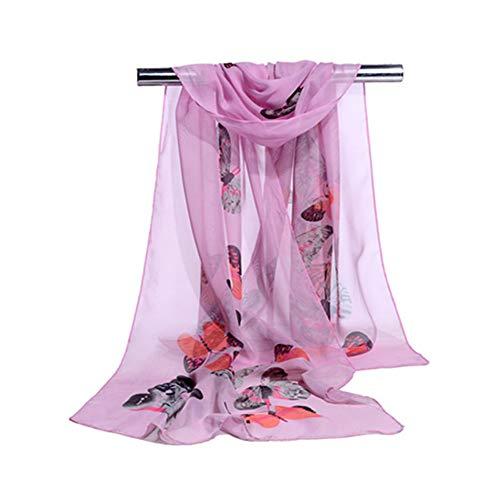 (Women'S Scarf Chiffon Scarf Print Air Conditioning Shawl Fashion Women'S Scarf O 160X50Cm)