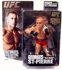 Round 5 UFC Ultimate Collector Series 1 Action Figure Georges Rush St. Pierre