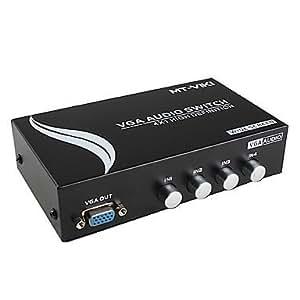 2ST š ¹ CK 4port vga audio converter conmutadora 0.15m