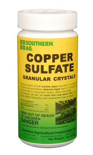 Southern Ag Copper Sulfate Granular Crystals  1 Pound