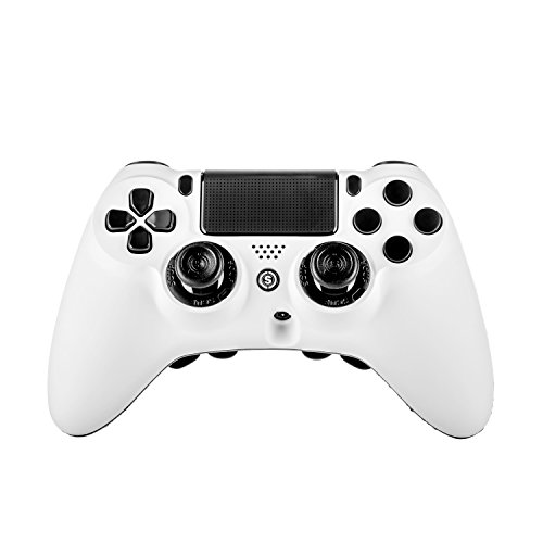 SCUF Gaming Impact Video Game Controller for Playstation 4 and PC, White