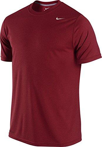 Nike Men's Legend Dri-FIT Poly Short Sleeve Crew Top Team Red T-Shirt SM
