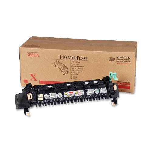 XEROX 115R00025 Fuser, 110v, for xerox phaser 7750 laser printer, 60,000 pages, Office Central