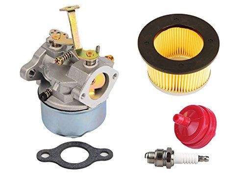 HIFROM Carburetor Air Filter for Tecumseh 632631 632230 632272 Troy bilt chipper vac 47279 47261 Tecumseh H30 H50 H60 (Troy Bilt Chipper Vac)
