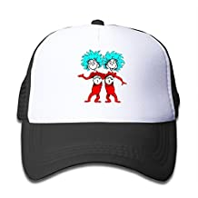 Personalized Thing 1 And 2 Kidâ€TMs Classic Cap Black