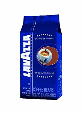 Lavazza Grand Espresso Whole Bean Coffee Value Pack (3 x 2.2 lb bags)