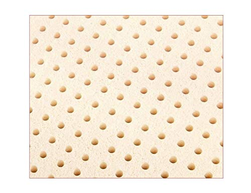 "USA Queen Original Talalay Latex Mattress Pad Toppers: US Made 2"", 3"", Many Densities (3"" Thick, 14 ILD Soft)"