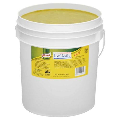 Knorr Chicken Base 095 40 Pound -- 1 Case by Unilever Bestfoods