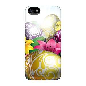For Jec2669NbDn Lilies Eggs For Easter Protective Skin/For Iphone 5C Phone Case Cover