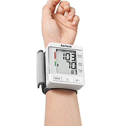 Asrisuk Wrist Blood Pressure Monitor FDA Approved, Accurate