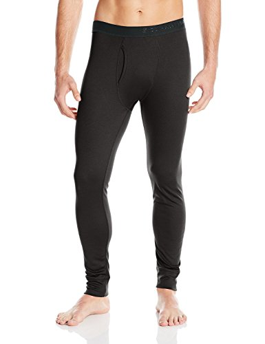 CLIMATESMART Men's Nano Mesh Midweight Baselayer Pant, Black, XX-Large