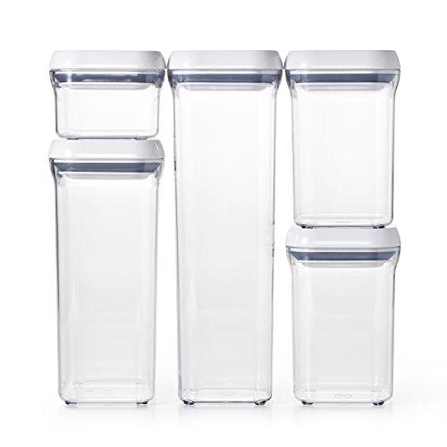 OXO Good Grips 5-Piece Airtight POP Container Set