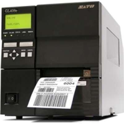 SATO WWGL12401 GL412E with Dispenser/Liner Rewinder - Dispenser Sato