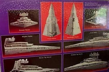 Puzzle 3d Wars Star - PUZZ 3D Star Wars Imperial Star Destroyer 823 Pieces