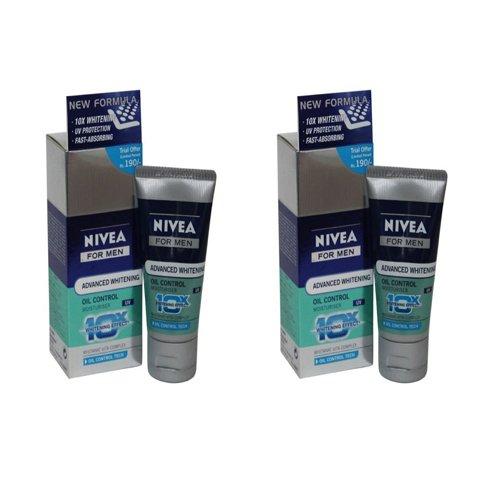 Price comparison product image Nivea 2 X Men Dark Spot Reduction Moisturiser Spf 30, 15Ml