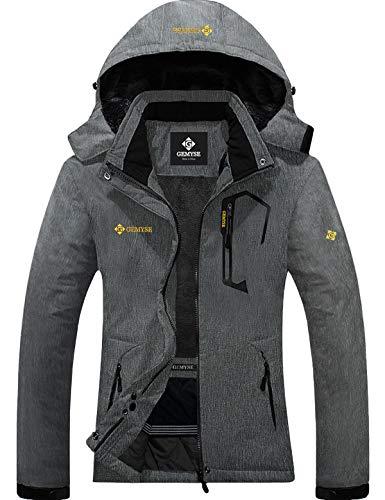 GEMYSE Women's Mountain Waterproof Ski Snow Jacket Winter Windproof Rain Jacket