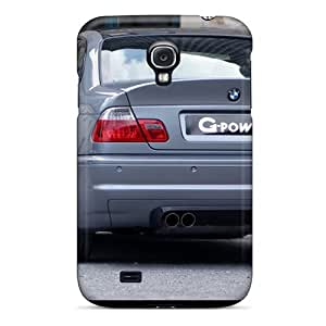 For GAwilliam Galaxy Protective Case, High Quality For Galaxy S4 G Power Bmw M3 Rear Skin Case Cover