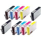 10 X Compatible Replaces 364XL High Capacity Printer Ink Cartridges for Use with HP CN684EE CB323EE CB324EE CB325EE Photosmart 7510, 7520, B8550, B8553, B8558, C5324, C5370, C5373, C5380, C5383, C5388, C5390, C5393, C6324, C6380, C6383, D5460, D5463, D5468, HP Photosmart Premium C309a, C309n/g, C310a, C410b, HP Photosmart eStation C510a, Printers. 2 x (H-364XL Black, Cyan, Magenta, Yellow, Photo BLack) Chipped Ready To Use 100% Guarantee Non-OEM