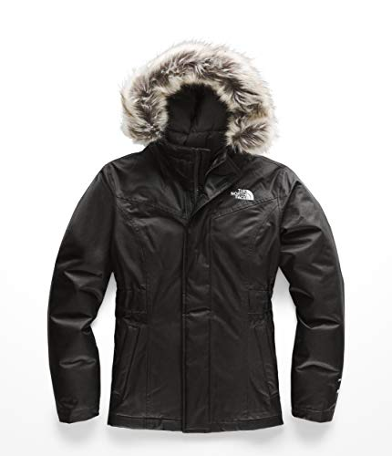 The North Face Kids Girl's Greenland Down Parka (Little Kids/Big Kids) TNF Black/TNF Black X-Large (Black Down Parka)