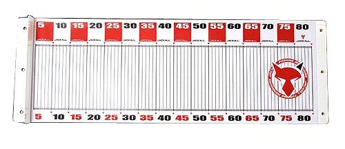 JACKALL(ジャッカル) ワイドメジャー タイプ1 80cm/30cm レッドの商品画像
