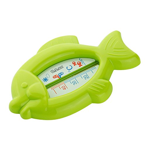 vanker cute baby infant bath tub water temperature tester toy fish shaped thermometer green. Black Bedroom Furniture Sets. Home Design Ideas