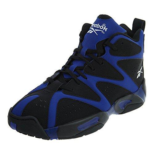 Reebok Kamikaze I Mid Youth US 6.5 Black Basketball Shoe by Reebok