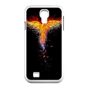 Samsung Galaxy S4 9500 Cell Phone Case White Fire Phoenix csrw