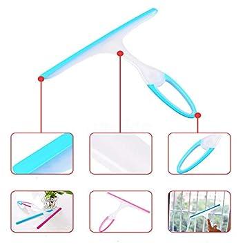 JIADIAN Mini Vetro per Sapone per vetri Mini tergipavimento Tergipavimento casa Auto Lama Bagno Specchio Doccia