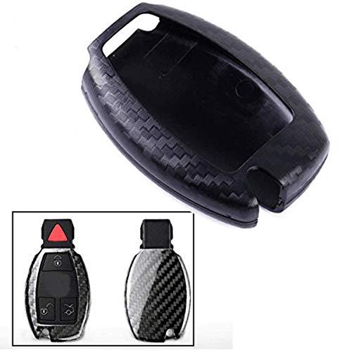 - FUAN Plastic Smart Remote Keyless Key Cover Case Shell Fob Compatible with Mercedes Benz A C S E Class B200 C180 C200 C230 C250 C350 CLK350