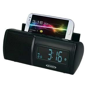 Spectra Merchandising JEN-JBD-100 Universal Bluetooth Clock Radio