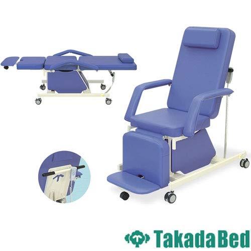 高田ベッド 電動治療チェアー(キャスター付き) TB-577-01 幅52×長さ190×高さ55㎝ アイボリー  アイボリー B07DLPXQMX