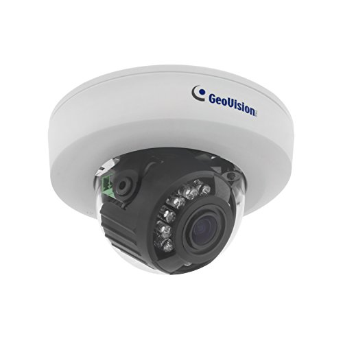 Geovision GV-EFD1100-0f   Target series 1.3MP 2.8mm, H.264, Low Lux, WDR, IR, IP Mini Fixed Dome Camera