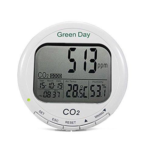 AZ 7788 Desktop Indoor Air Quality Monitor Carbon Dioxide Temperature Humidity Meter