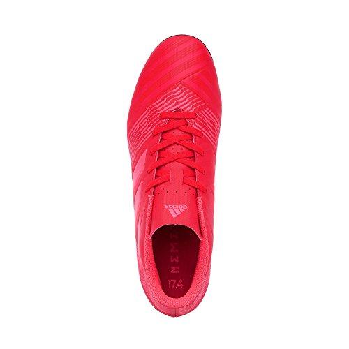 adidas Nemeziz 17.4 FxG J, Botas de Fútbol Unisex Adulto Naranja (Correa / Rojent / Negbas 000)
