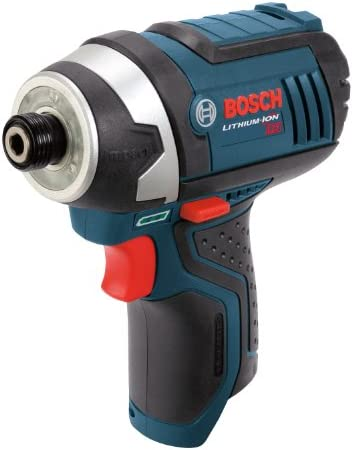 Bosch Bare-Tool PS41BN 12-Volt Max Lithium-Ion 1 4-Inch Hex Impact Driver with Exact-Fit L-BOXX Tool Insert Tray