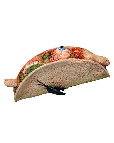 Zagone Studios Terrible Taco Novelty Latex Fake Taco with Cockroach -