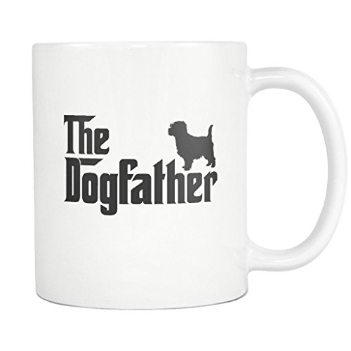 Cairn Terrier DogFather Coffee Mug Funny Gift Tea Cup for sale  Delivered anywhere in USA