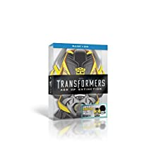Transformers : Age Of Extinction Limited Bumblebee Edition 3-Disc [2D Blu ray + Bonus Blu Ray Disc Over 3 Hours of Special Features + DVD] [Nordic Import] [Region Free] Blu Ray