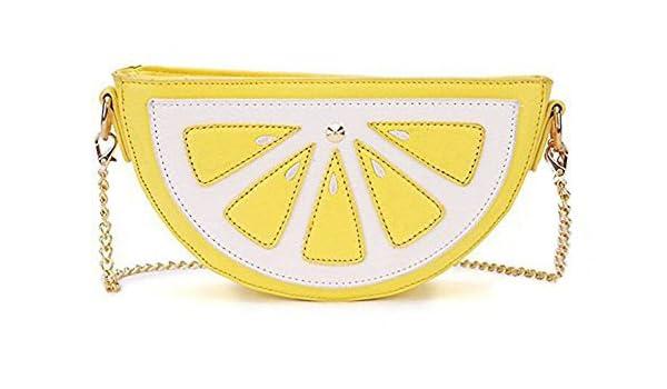 0ec480337c8 Women s Lemon Watermalon Fruit Shoulder Bag Messenger Bag Purse  Handbags   Amazon.com