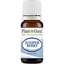 Juniper Berry Essential Oil 10 ml. 100% Pure Undiluted Therapeutic Grade.