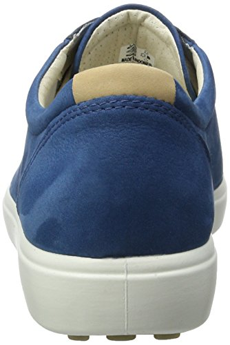 Ecco Damen Soft 7 Ladies Sneakers Blau (2269poseidon)