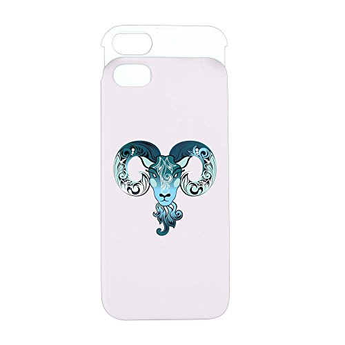 iPhone 5 or 5S Wallet Case Pink and White New Year Goat 2015