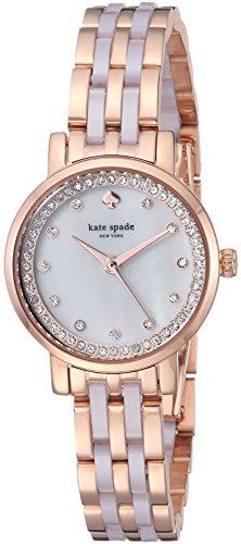 kate spade new york Women's KSW1265 Monterey Analog Display Japanese Quartz Watch, Rose Gold-Tone