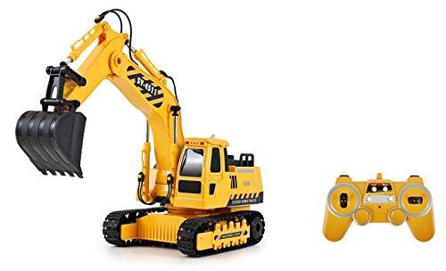 SIVA R/C Excavator großer ferngesteuerter Bagger mit Ladegerät 40 cm